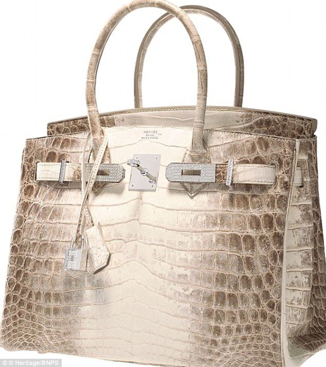 birkin handbag price - DIAMOND ENCRUSTED BIRKIN BAG SNATCHED UP FOR $300,000 | | THE ...